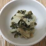 郷土料理 体菜の煮菜