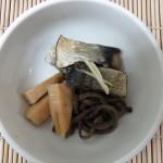鰊と筍とぜんまいの煮物